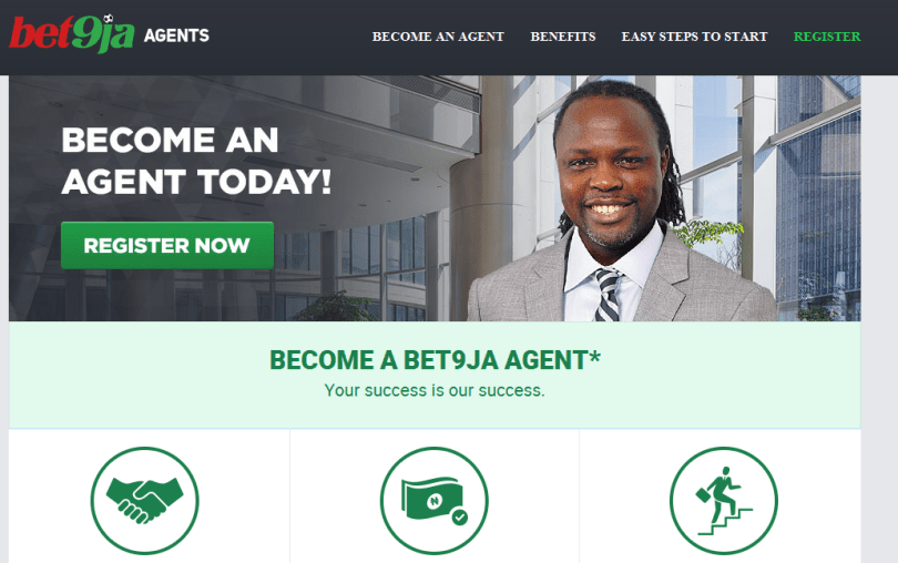Become a Bet9ja Agent